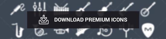 Premium Music icons